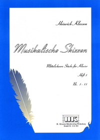 H. Klassen, Musical sketches, Book 1, N° 1-11