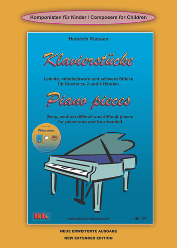 H. Klassen, Piano pieces incl. CD NEW EXTENDED EDITION