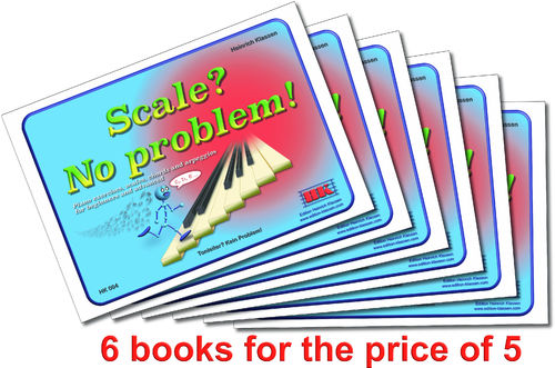 H. Klassen, Scale? No problem! English. 6 books for the price of 5